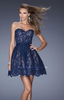 wedding photo - La Femme - 20451 - Elegant Evening Dresses