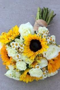 wedding photo - Summery Sunflowers Michelle   James