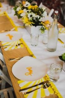 wedding photo - Sunny Yellow Baby Shower (100 Layer Cakelet)