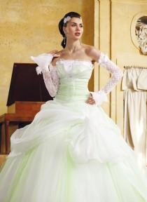 wedding photo - Eli Shay, Domino blanc et anis - Superbes robes de mariée pas cher