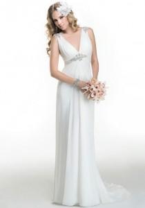 wedding photo - Maggie Sottero Alicia Wedding Dress - The Knot - Formal Bridesmaid Dresses 2016