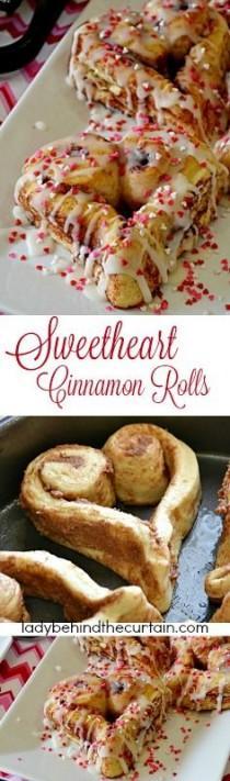 wedding photo - Sweetheart Cinnamon Rolls