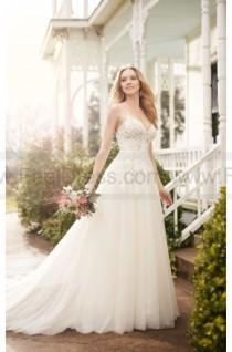 wedding photo - Martina Liana A-Line Wedding Dress With Illusion Lace Bodice Style 822