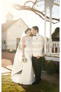 wedding photo - Martina Liana Beaded Wedding Dress Cathedral Train Style 823