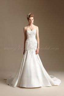 wedding photo - Jasmine Couture T152008 Mermaid Wedding Dress - Crazy Sale Bridal Dresses