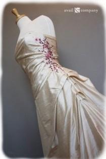 wedding photo - Cherry Blossom Bridal Gown Wedding Dress - Cherry Blossom Style