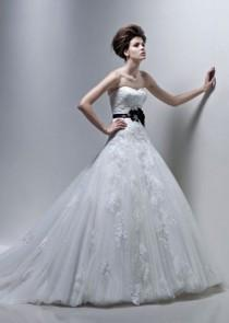 wedding photo - Enzoani Fatima - Burgundy Evening Dresses