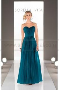 wedding photo - Sorella Vita Convertible Bridesmaid Dress Style 8595 - Bridesmaid Dresses 2016 - Bridesmaid Dresses
