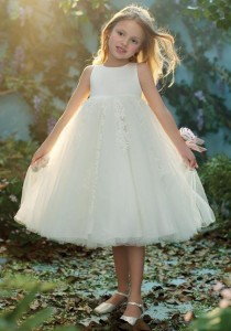 wedding photo - Alfred Angelo Flower Girls 718 Flower Girl Dress - The Knot - Formal Bridesmaid Dresses 2016