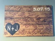 wedding photo - Rustic Pallet Wood Wedding Guestbook Rustic Alternative Wedding Wooden Guest Book
