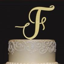 wedding photo - Rustic Wedding Cake Topper - Personalized Monogram Cake Topper - Keepsake Wedding Cake Topper