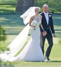 wedding photo - Derek Jeter And Sports Illustrated Model Hannah Davis Marry