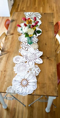 wedding photo - D.I.Y Upcycle Your Granny's Doilies.
