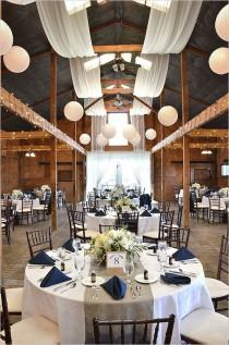 wedding photo - Blue And White Wedding Ideas From Bluemont Vineyards