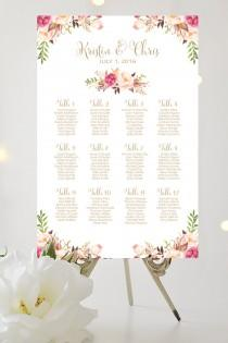 wedding photo - Wedding Seating Chart
