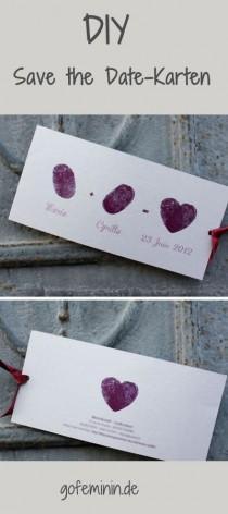 wedding photo - Zusagen Erwünscht: 10 Kreative Ideen Für Tolle Save The Date Einladungen