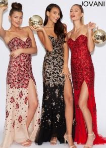 86b85279073 Jovani 4247 Jeweled Prom Gown - 2016 Spring Trends Dresses