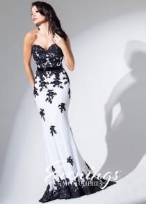 wedding photo - Evenings by Mon Cheri TBE11560 Lovely Lace Dress - 2016 Spring Trends Dresses