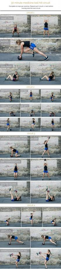 wedding photo - Medicine Ball Hiit Circuit Workout