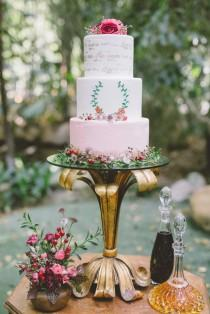 wedding photo - Garden Fairytale Valentine Wedding Inspiration
