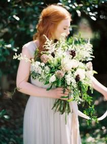 wedding photo - Elegant And Organic Bridal Inspiration