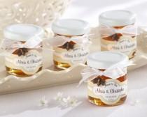 wedding photo - Personalized Clover Honey Favor
