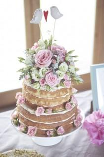 wedding photo - Romantic Boho Wedding With A Beautiful Claire Pettibone Wedding Dress: Kyla & Keith