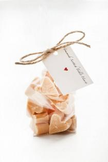wedding photo - Scottish Tablet Fudge Hearts