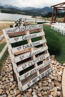wedding photo - Rustic Pastel Wedding At Estes Park Resort, CO