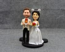 wedding photo - Wedding Cake Topper, Wedding Cake Decor, Custom Personalized Mr & Mrs Cake Topper, Wedding Vintage Cake Toppers, Wedding Topper