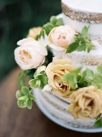 wedding photo - Ethereal Spring Rose Garden Wedding Shoot