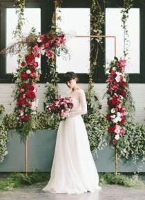 wedding photo - Modern Brooklyn Wedding Inspiration At The 501 Union (100 Layer Cake)
