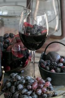 wedding photo - Black Sangria