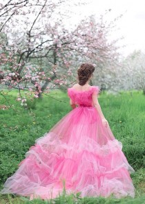 wedding photo - Pink Ball Gown