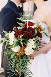 wedding photo - 4 Statement Flowers To Step Up Your Bridal Bouquet