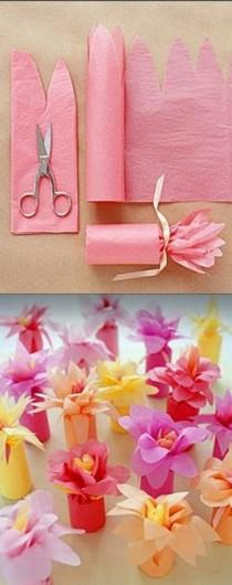wedding photo - Create These Easy Tissue Paper Crafts And Have Fun With Your Kids