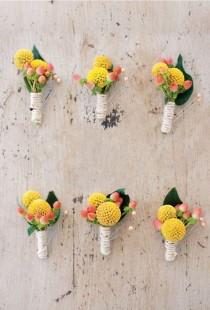 wedding photo - Summer Citrus Wedding Inspiration In Coral, Yellow, And Aqua