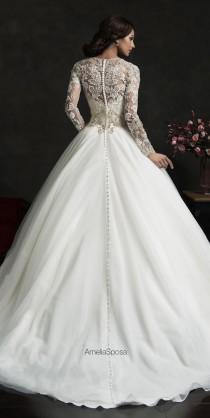 wedding photo - Winter Wedding Dresses - Belle The Magazine