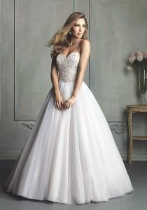 wedding photo - Allure Bridals 9126 - Charming Custom-made Dresses