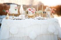 wedding photo - Gold   Peach Mother & Daughter Bridal Inspiration