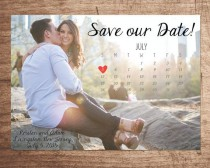 wedding photo - Photo Calendar Save Our Date [ DIGITAL FILE ]