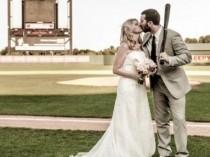 wedding photo - 8 Ways To Plan A Baseball Theme Wedding...
