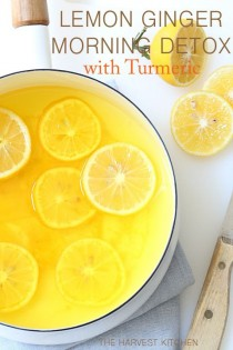 wedding photo - Lemon Ginger Morning Detox Drink