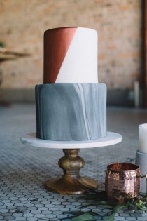 wedding photo - Green And Copper Wedding Inspiration