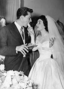 wedding photo - PHOTOS: The Many Weddings Of Elizabeth Taylor