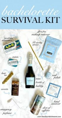 wedding photo - One Last Ride For The Bride: DIY Bachelorette Survival Kit - Diary Of A Debutante