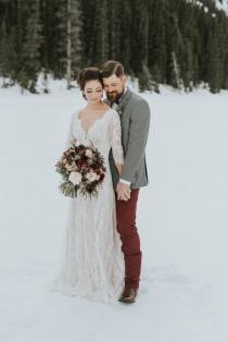 wedding photo - Lake Louise Winter Wedding