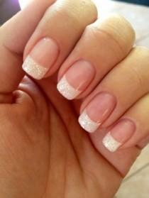 wedding photo - 22 Awesome French Manicure Designs - Page 9 Of 23