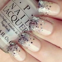 wedding photo - 16 Glamorous Glitter Nail Art Designs For 2014