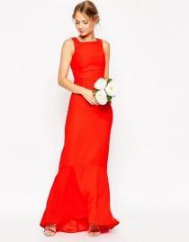 wedding photo - ASOS WEDDING Maxi Dress With Fishtail Hem